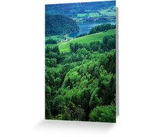Lake Wolfgangsee Greeting Card