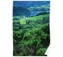 Lake Wolfgangsee Poster