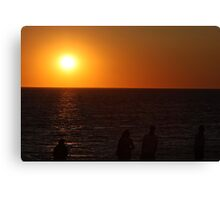 Sunset in Cap Cod Canvas Print