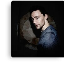 Hiddleston in Spotlight Canvas Print
