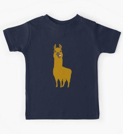 Llama is cool Kids Tee