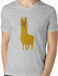 Llama is cool Mens V-Neck T-Shirt