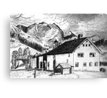 Fextal, Switzerland Canvas Print