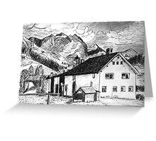 Fextal, Switzerland Greeting Card