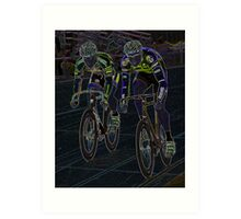 Final Sprint Art Print