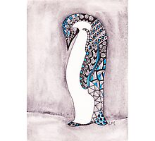 Pattern Penguin Photographic Print