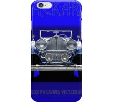 1932 Packard Victoria Convertible iPhone Case/Skin