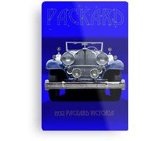 1932 Packard Victoria Convertible Metal Print