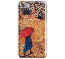 Walk in the Park (inspired by photography by Song Wen) iPhone Case/Skin