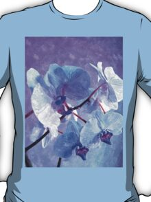 Blue Orchid-Art Prints-Mugs,Cases,Duvets,T Shirts,Stickers,etc T-Shirt