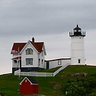 The Nubble Lighthouse by Jeannette Sheehy