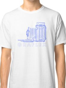 Vintage Photography - Graflex (Version 2) - Blue Classic T-Shirt