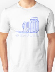 Vintage Photography - Graflex (Version 2) - Blue T-Shirt