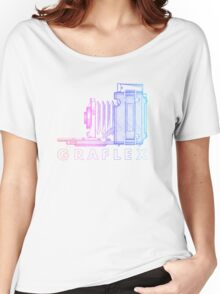 Vintage Photography - Graflex (Version 2) - Multi-Colour Women's Relaxed Fit T-Shirt