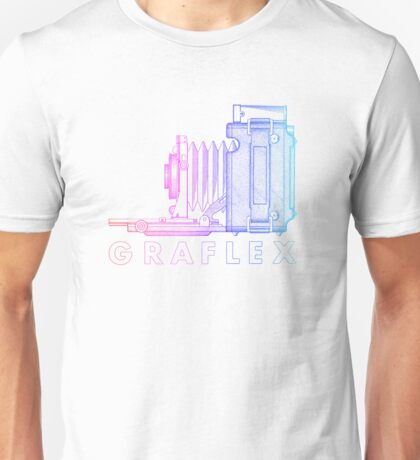 Vintage Photography - Graflex (Version 2) - Multi-Colour Unisex T-Shirt