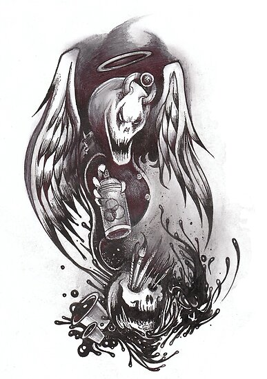painful art by Dantapley
