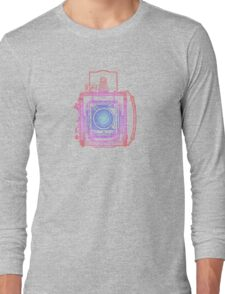 Vintage Photography - Graflex (Multi-colour) Long Sleeve T-Shirt