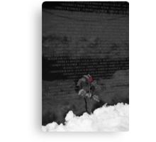Vietnam Veterans Memorial 4 Canvas Print