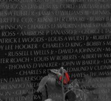 Vietnam Veterans Memorial 4 Sticker