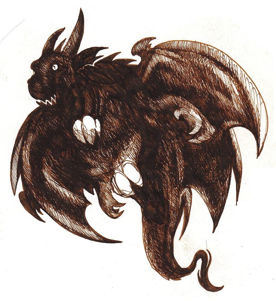 dragon of the dark by Dantapley