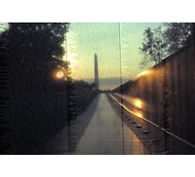 Vietnam Veterans Memorial 5 Photographic Print
