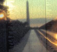 Vietnam Veterans Memorial 5 Sticker