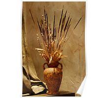 Autumn Vase Poster