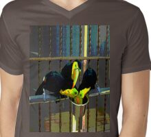 Toucanimated Mens V-Neck T-Shirt
