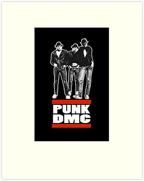 RUN DMC PUNK 77 by cuddlemachine