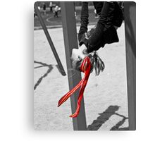 My Red Ribbon Canvas Print