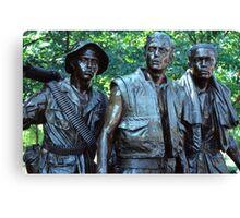 Vietnam Veterans Memorial 7 Canvas Print