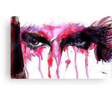 Piercing Eyes Canvas Print