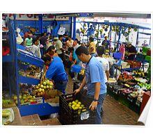 Cartago Fruit & Vegetable Market Poster