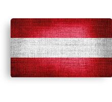 Austria Flag Canvas Print