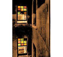 Coloured Glass Photographic Print