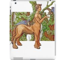 Earth centaur iPad Case/Skin