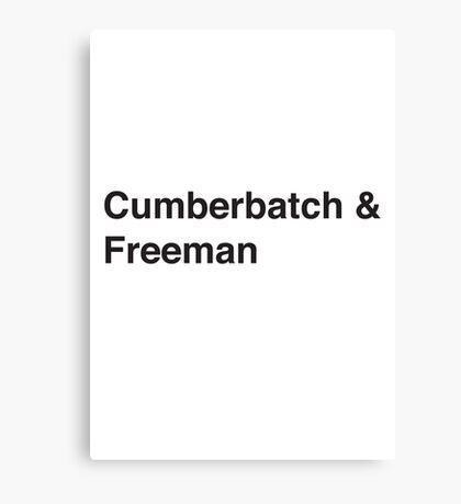 Cumberbatch & Freeman Canvas Print