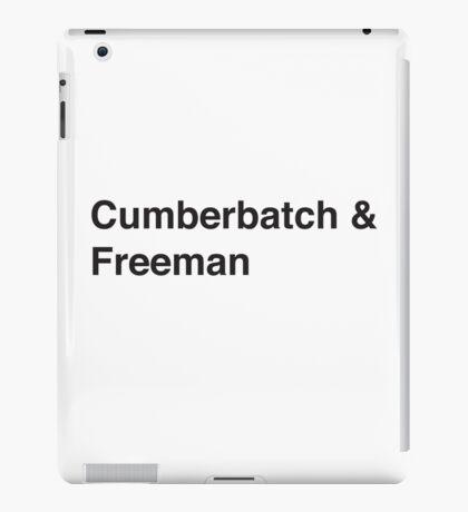Cumberbatch & Freeman iPad Case/Skin