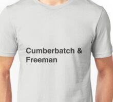 Cumberbatch & Freeman Unisex T-Shirt