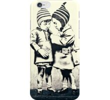 Friendship- street art in Bristol iPhone Case/Skin