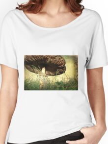 Underneath the Mushroom Women's Relaxed Fit T-Shirt