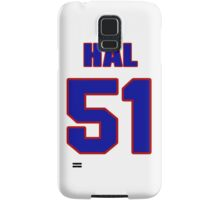 National football player Hal Faverty jersey 51 Samsung Galaxy Case/Skin