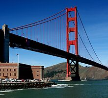 Fort Point and the Golden Gate by Laurie Search