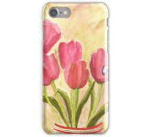 Christmas Tulips iPhone Case/Skin