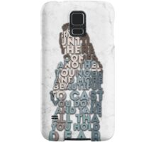 Margaery Tyrell Quote Samsung Galaxy Case/Skin