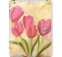Christmas Tulips iPad Case/Skin
