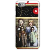 Family Is What You Make It - mixed media collage assemblage art iPhone Case/Skin