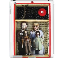 Family Is What You Make It - mixed media collage assemblage art iPad Case/Skin