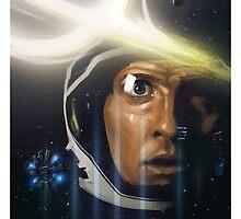 Interstellar Painting by David Valdez
