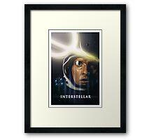 Interstellar Painting Framed Print